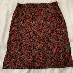Vintage Holiday mini skirt!